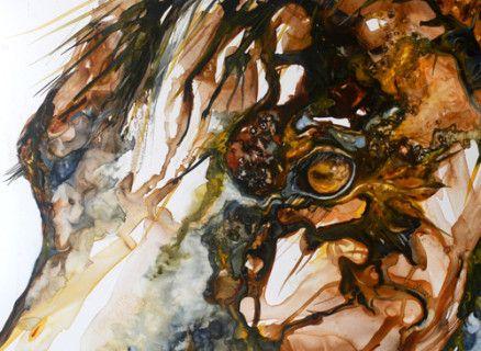 Contemporary horse portrait